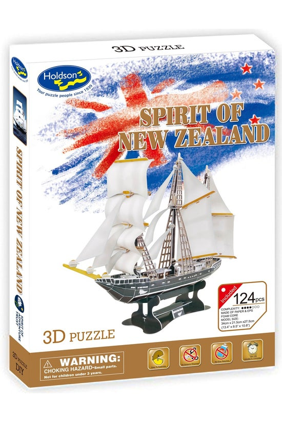 3d Puzzle Spirit Of New Zealan...