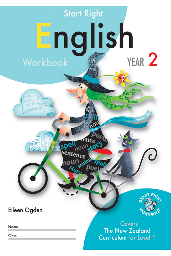 Sr Year 2 English Workbook