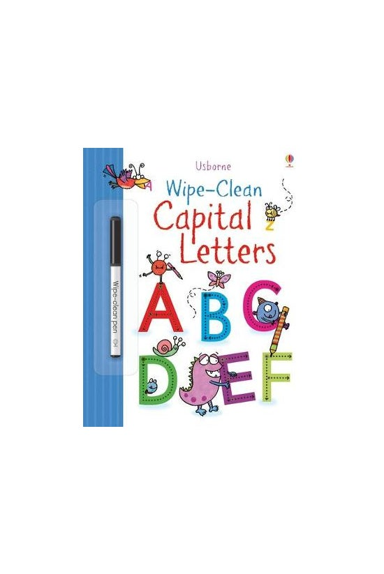 Wipe Clean: Capital Letters
