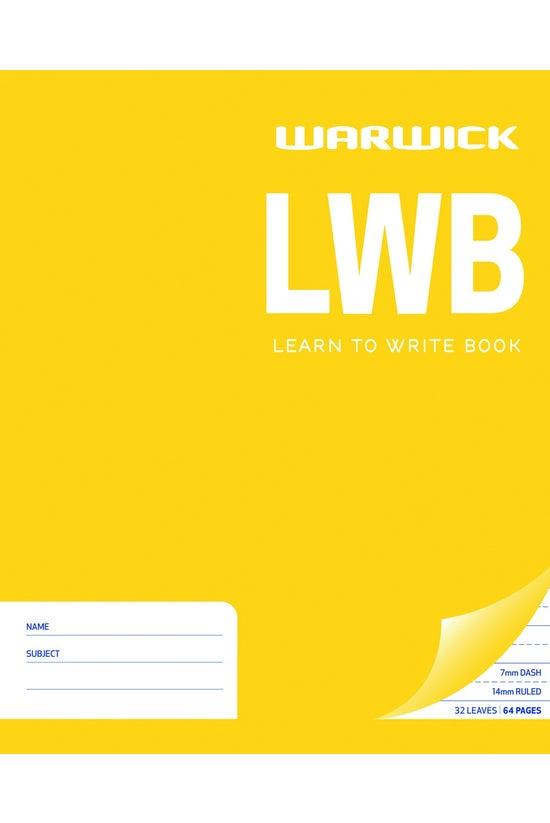 Warwick Learn To Write Book Lw...
