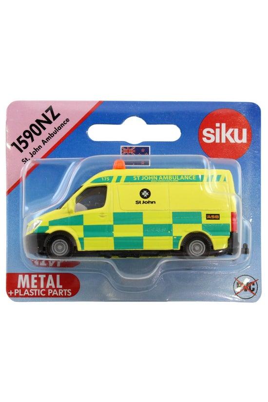 Siku Nz St. John Ambulance