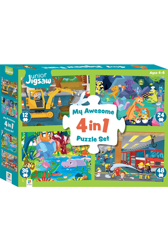 Junior Jigsaw: My Awesome 4 In...