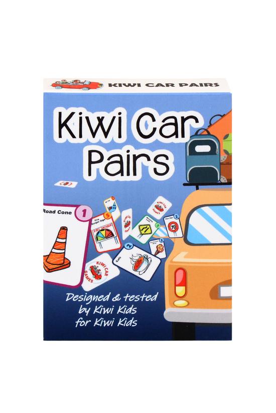 Kiwi Car Pairs Game
