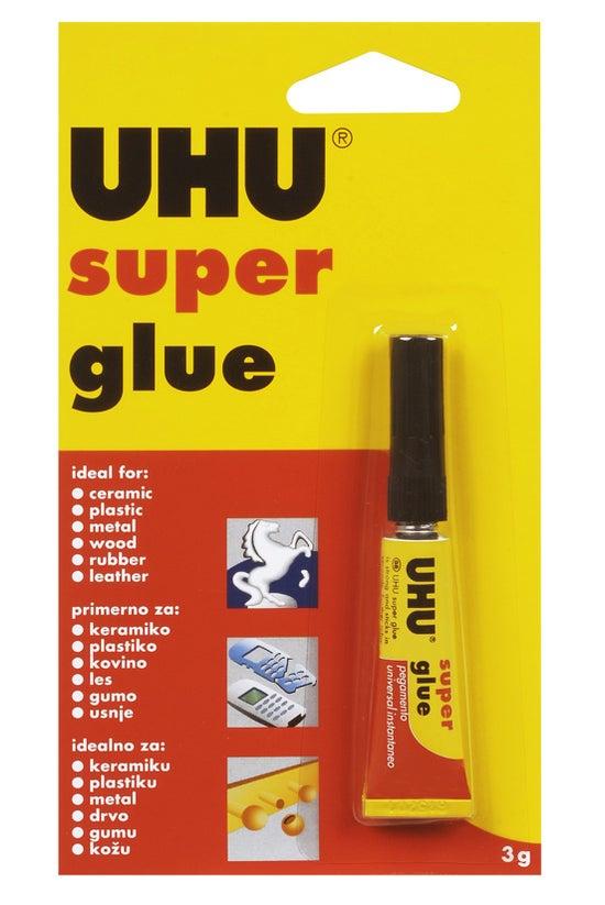 Uhu Super Glue Instant Bond 3m...