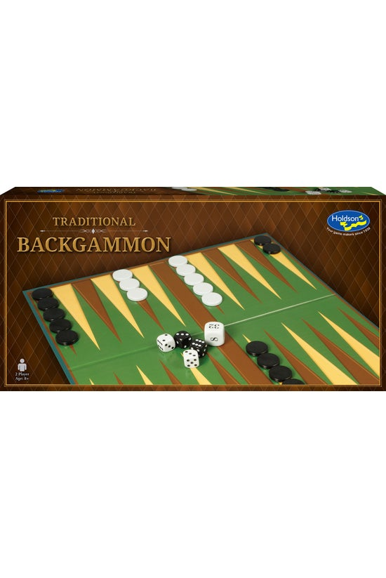 Traditional Backgammon Set