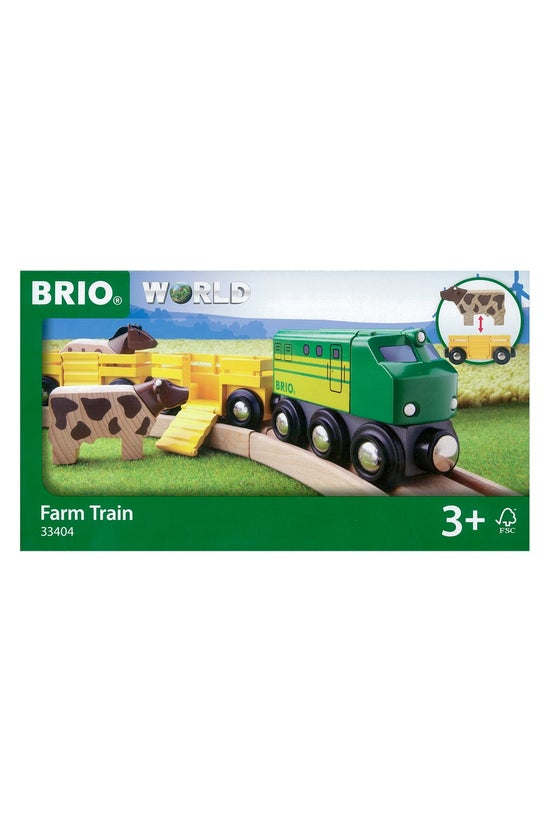 Brio World: Farm Train 33404
