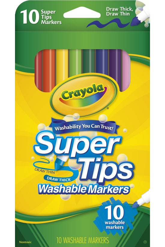 Crayola Washable Super Tips Ma...