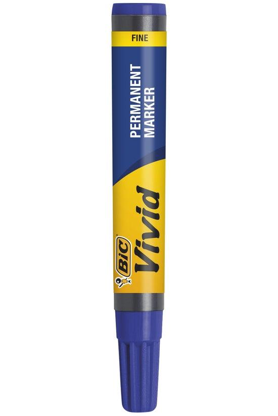 Bic Vivid Permanent Marker Fin...