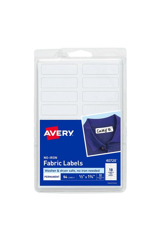 Avery No-iron Fabric Labels 45...