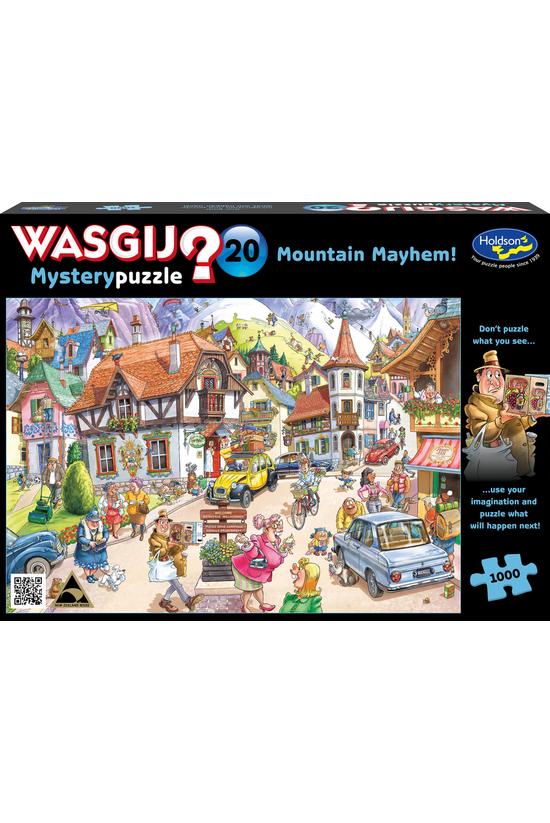 Wasgij Mystery #20: Mount Mayh...