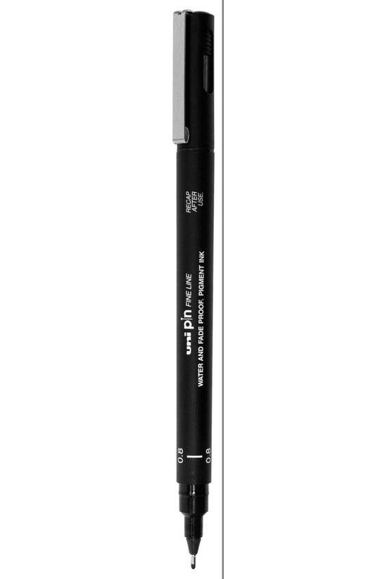 Uni Pin Fineline Marker Fiber ...