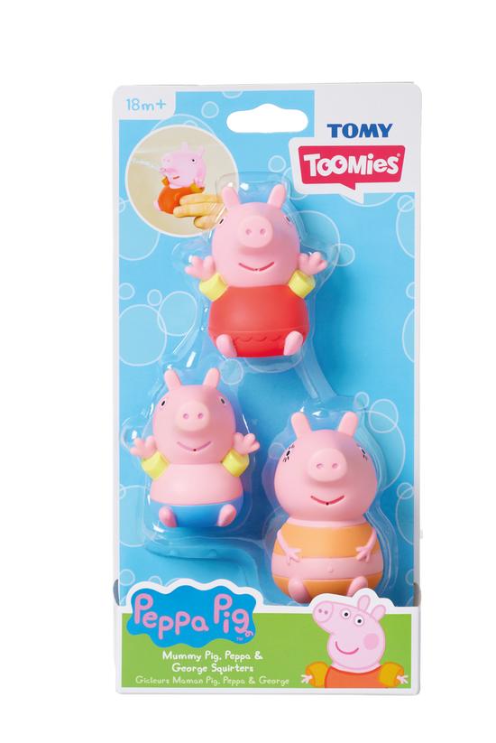 Tomy Peppa Pig Bath Family Squ...