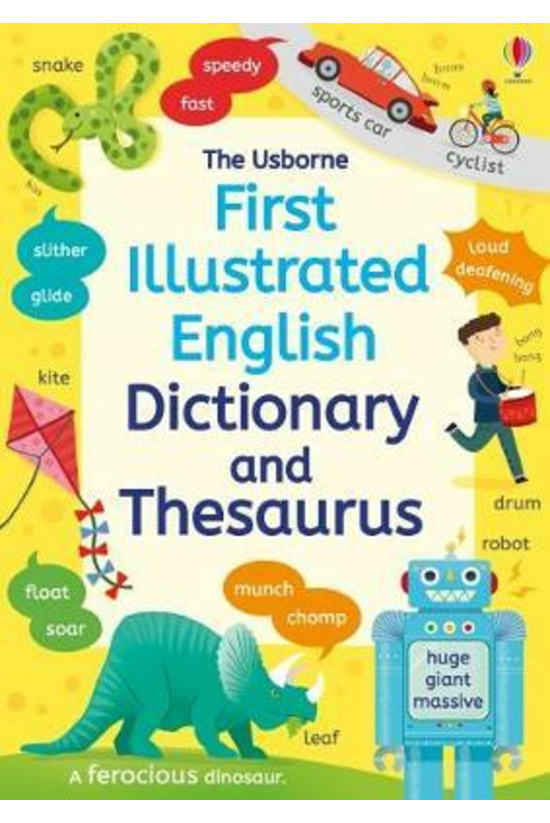 First Illustrated Dictionary A...