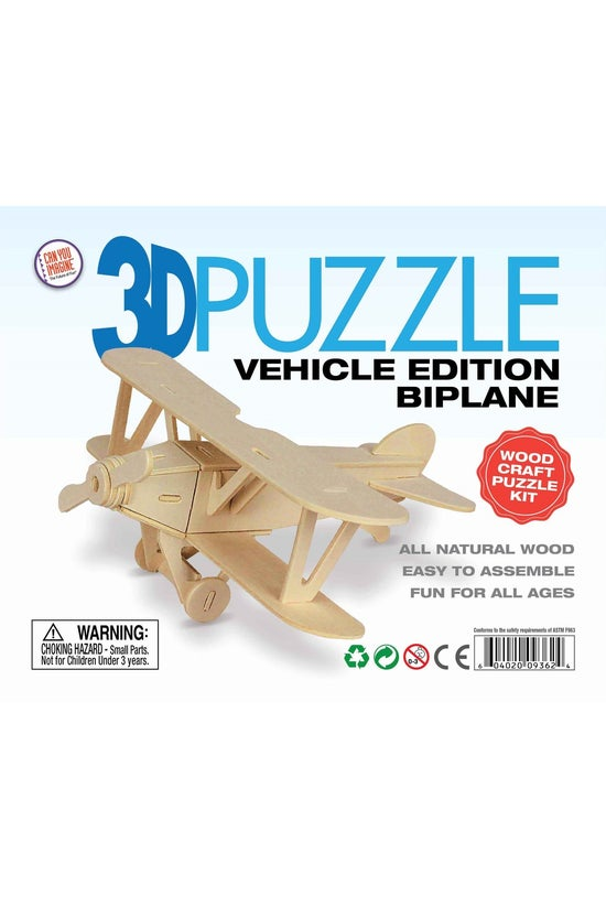 3d Vehicle Puzzle Assorted