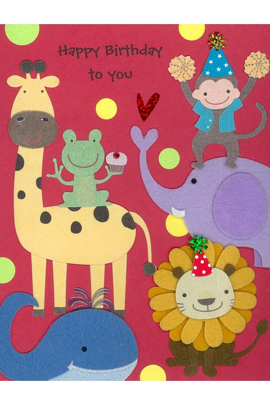 Papyrus Birthday Card Baby Par...