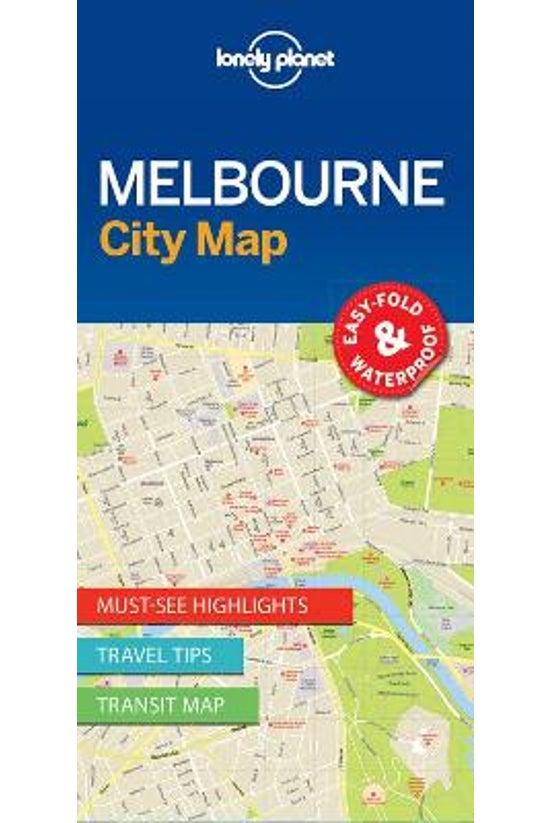 Lonely Planet Melbourne City M...