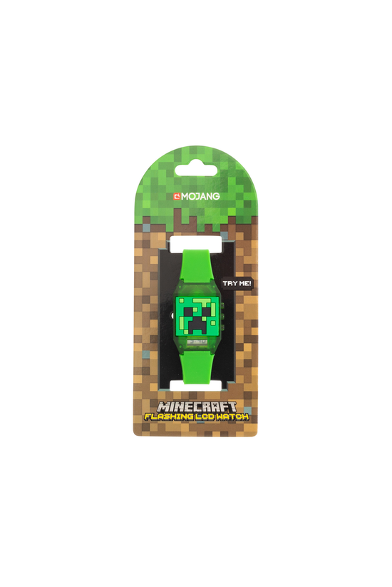 Minecraft Digital Flashing Lcd...