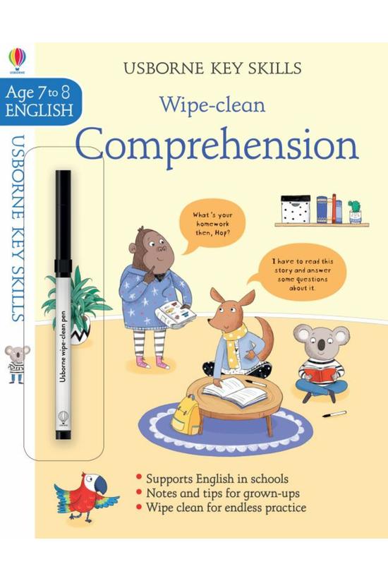 Wipe-clean Comprehension 7-8