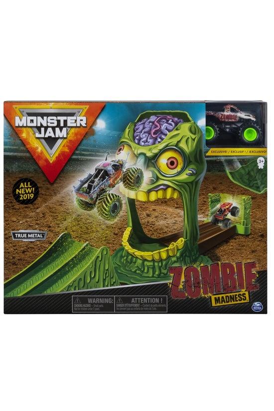 Monster Jam Stunt Playset Asso...