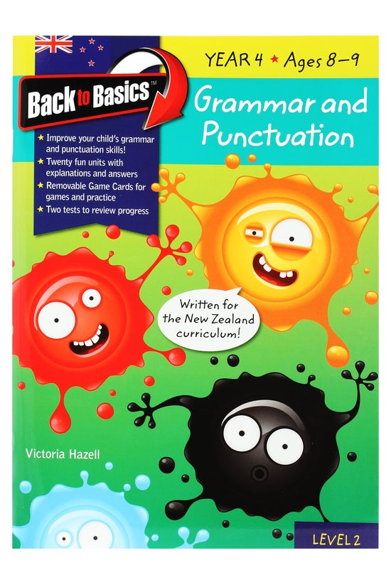 Back To Basics Year 4 Grammar ...
