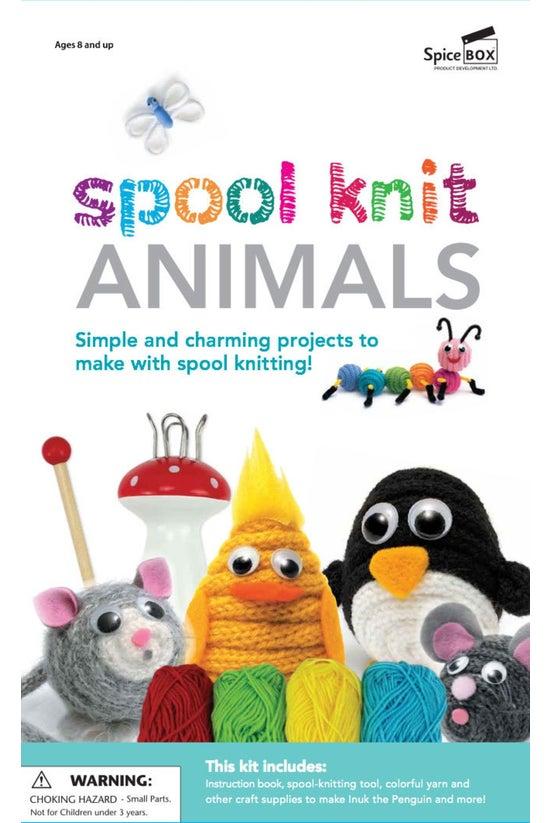 Spice Box: Spool Knit Animals