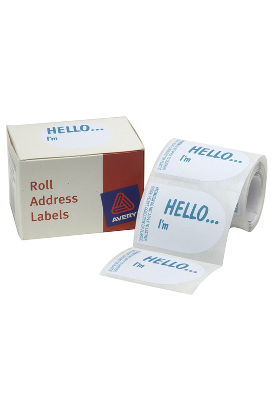 Avery Name Labels 58x43mm Box ...