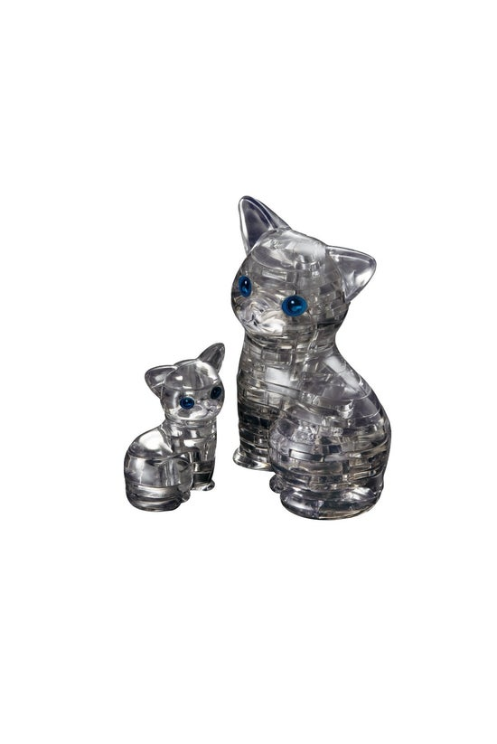 Crystal Puzzle - Black Cat In ...