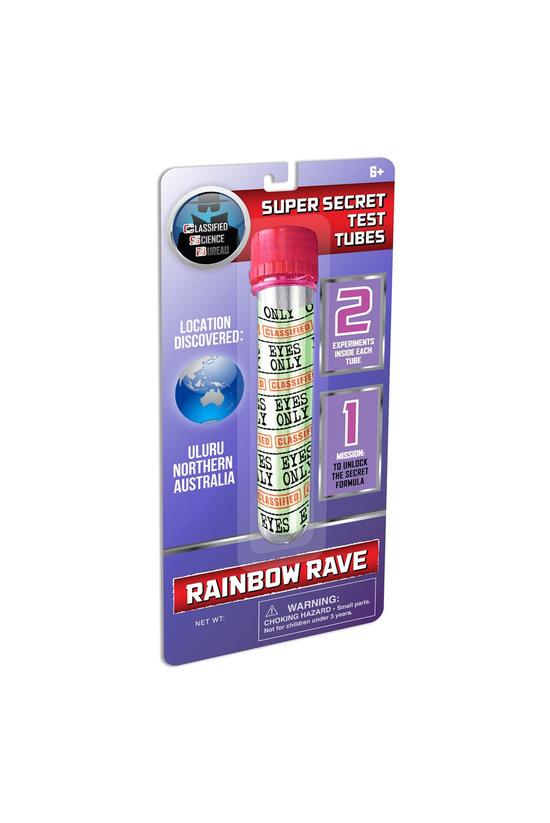 Super Secret Test Tubes Rainbo...
