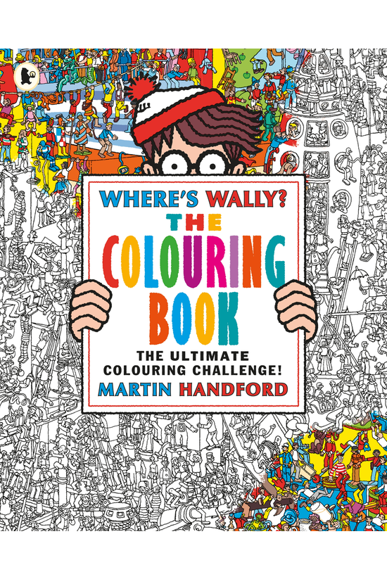 Where's Wally? The Colouring B...