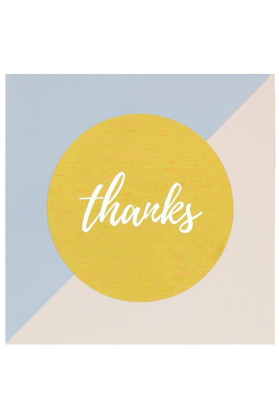 Noted Thank You Cards Pink Blu...