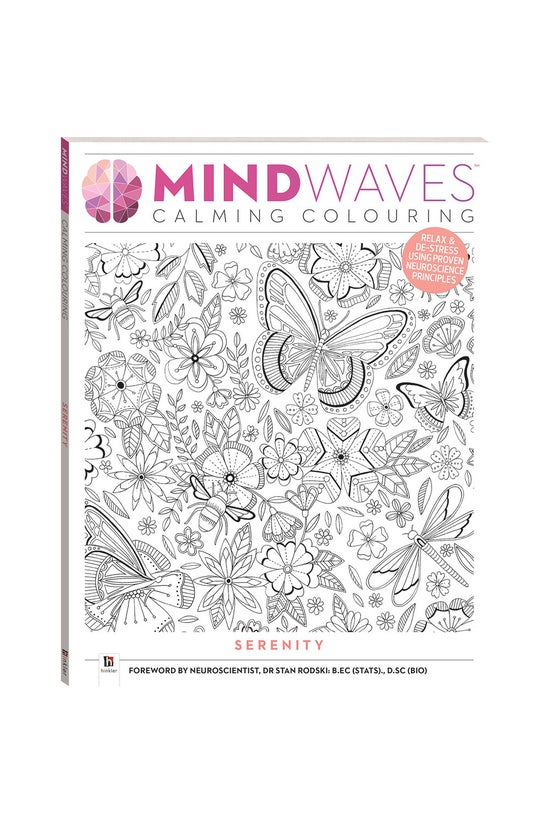 Mindwaves Calming Colouring: S...