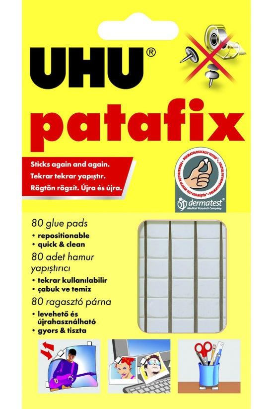 Uhu Patafix Tack White 80 Pack