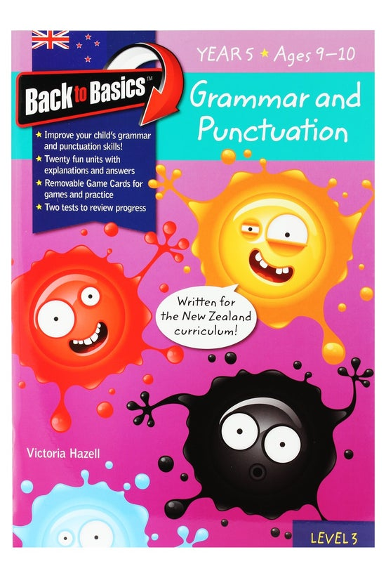 Back To Basics Year 5 Grammar ...