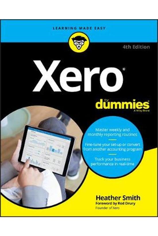 Xero For Dummies 4th Edition