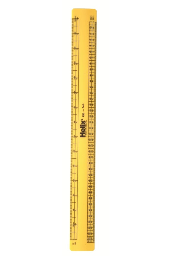 Helix Scale Ruler Architects F...