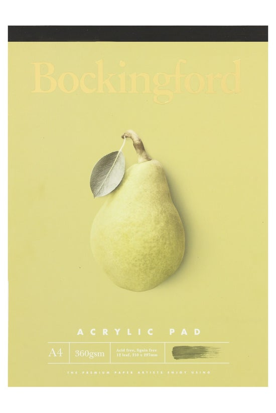 Bockingford A4 360gsm Acrylic ...