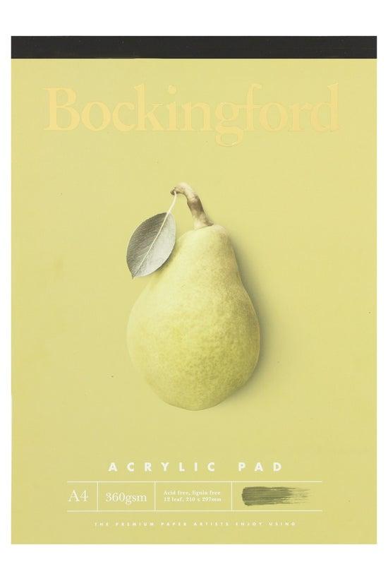 Bockingford A4 360gsm Acrylic ...