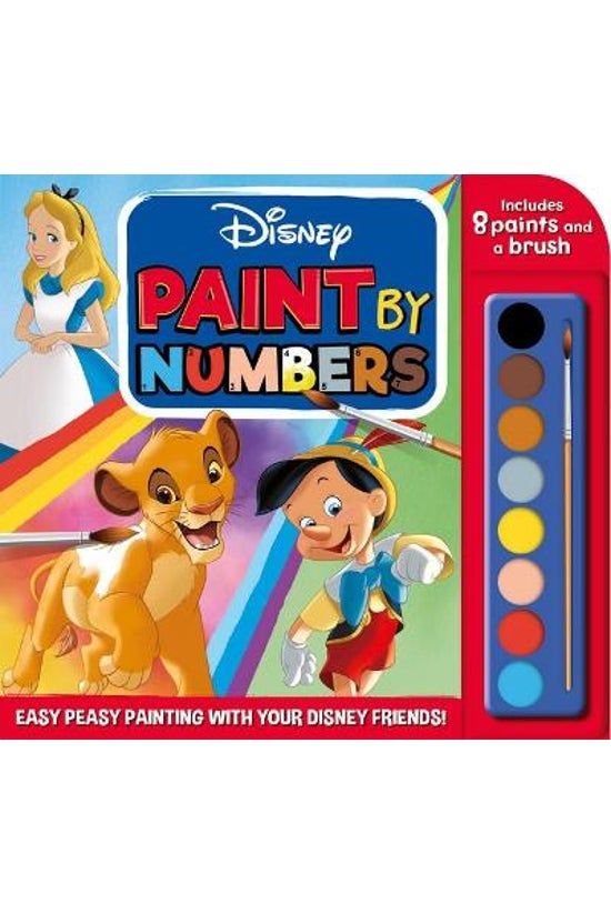 Disney: Paint By Numbers