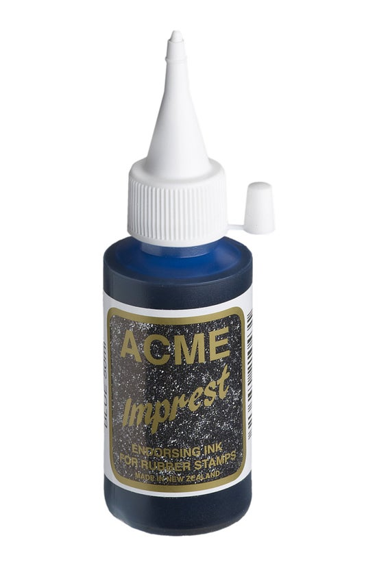 Acme Imprest Ink 50ml Blue