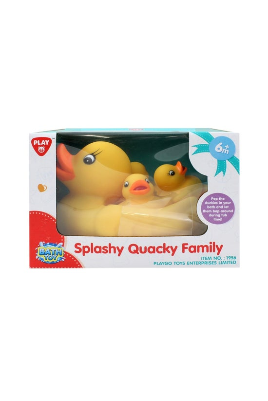 Splashy Quacky Duck Family