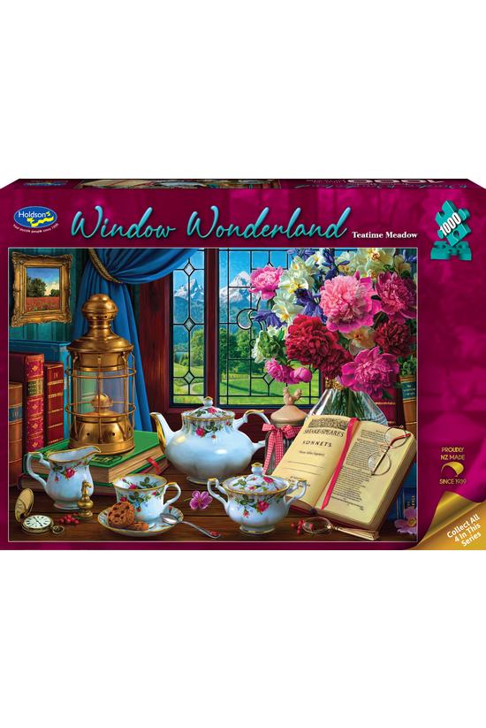 Window Wonderland: Teatime Mea...