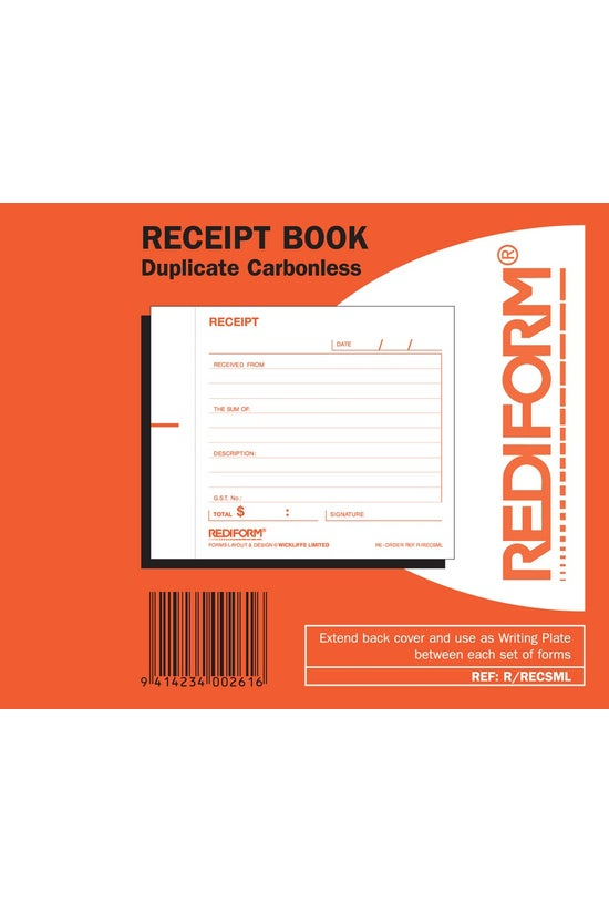 Rediform Receipt Duplicate 105...