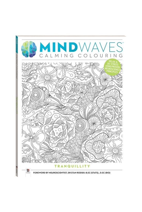 Mindwaves Calming Colouring: T...