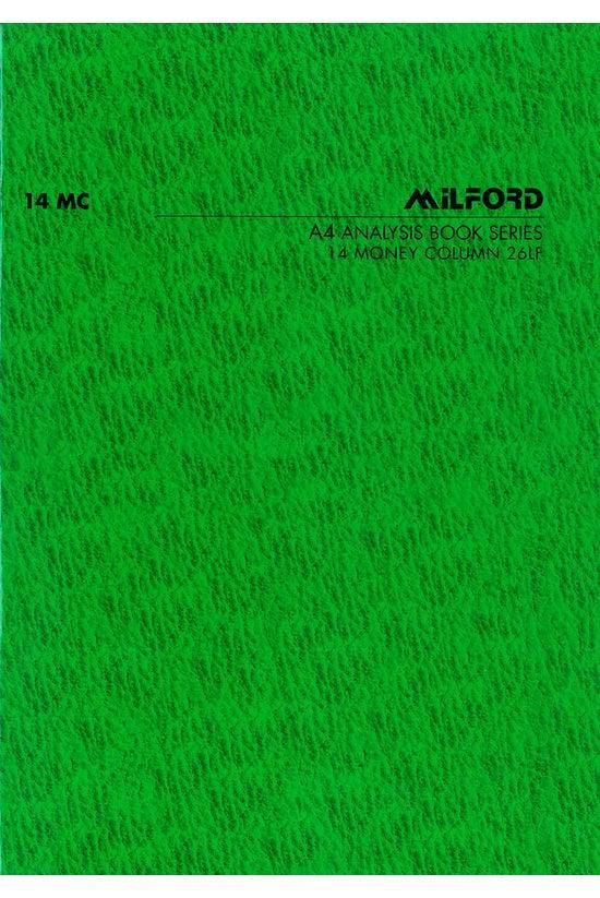 Milford Analysis Book A4 Limp ...