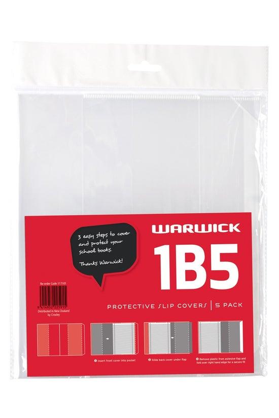 Warwick 1b5 Book Slip Covers P...