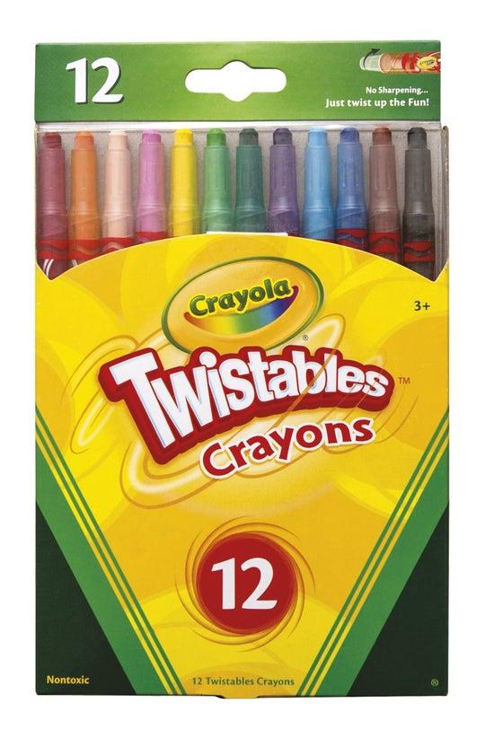 Crayola Crayons Twistables Pac...