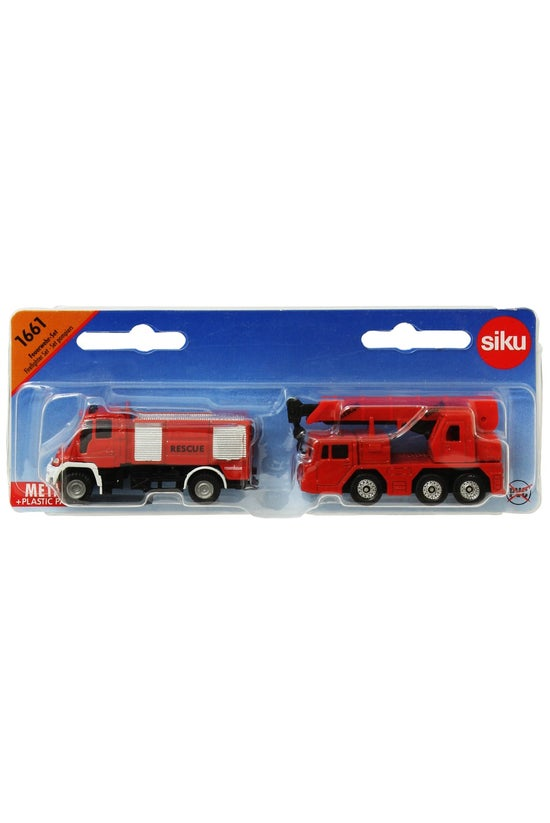 Siku Fire Fighter Set 1661