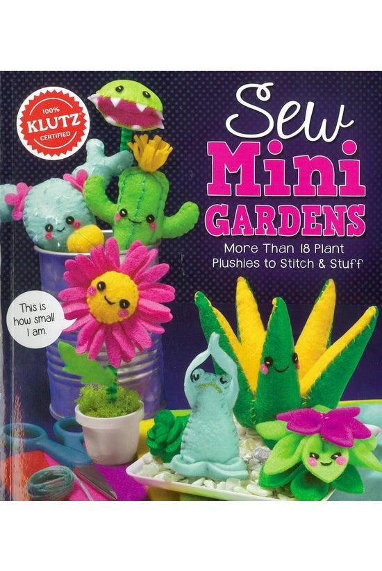 Klutz: Sew Mini Gardens
