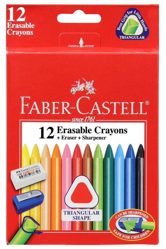 Faber Castell Erasable Crayons...