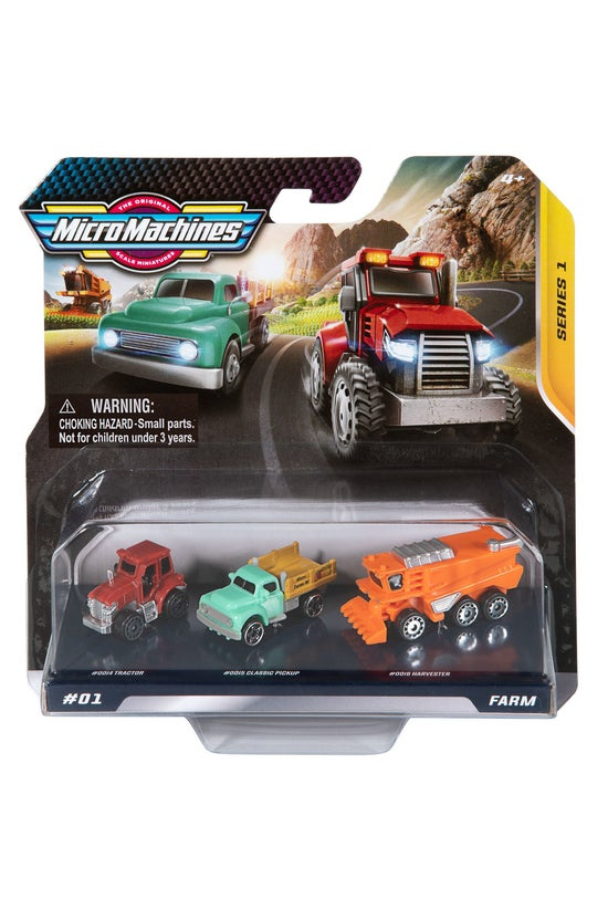 Micro Machines Starter Pack As...